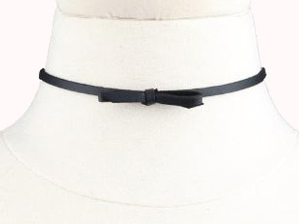 Ribbon Bow Choker