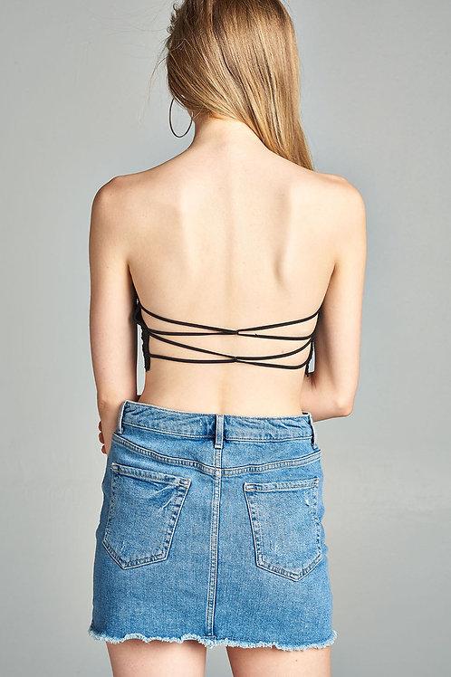 Strappy Back Bralette