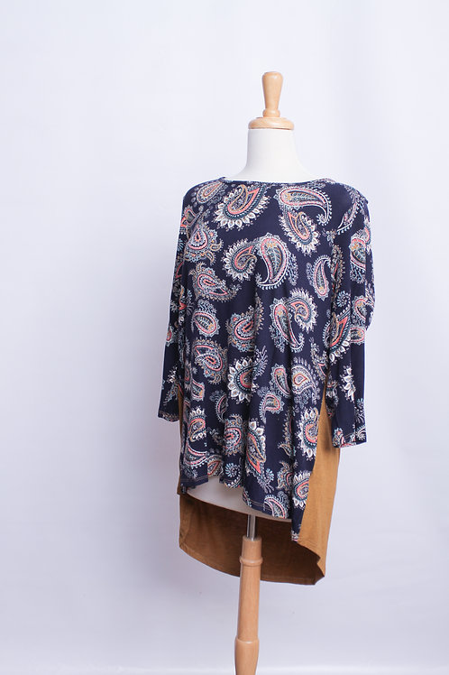 Paisley Front Top, Plus