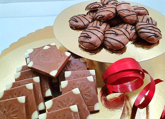 KARAMEL ZEEZOUT CHOCOLADE - 500 GRAM