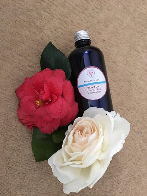 Womb Massage oil (organic) 100ml