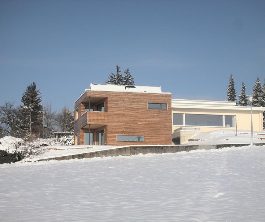 Solarhaus Winter