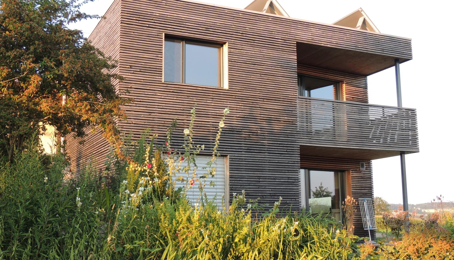 Solarhaus Foren Westansicht