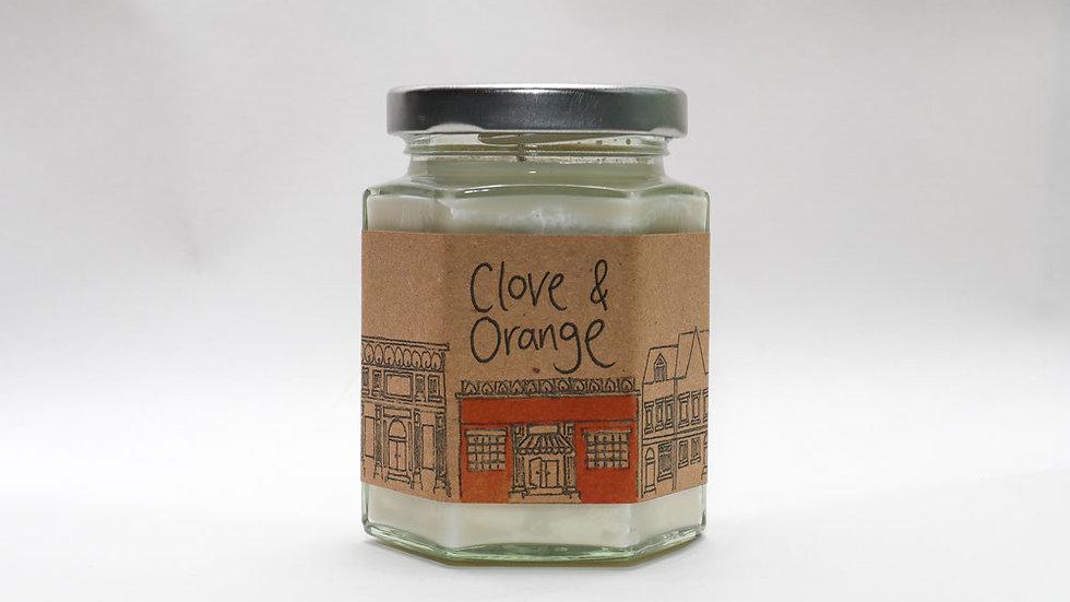 Clove & Orange Candle