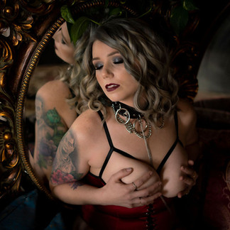 Mrs. A's journey to empowerment // Boudoir Session // Norfolk Boudoir Photography
