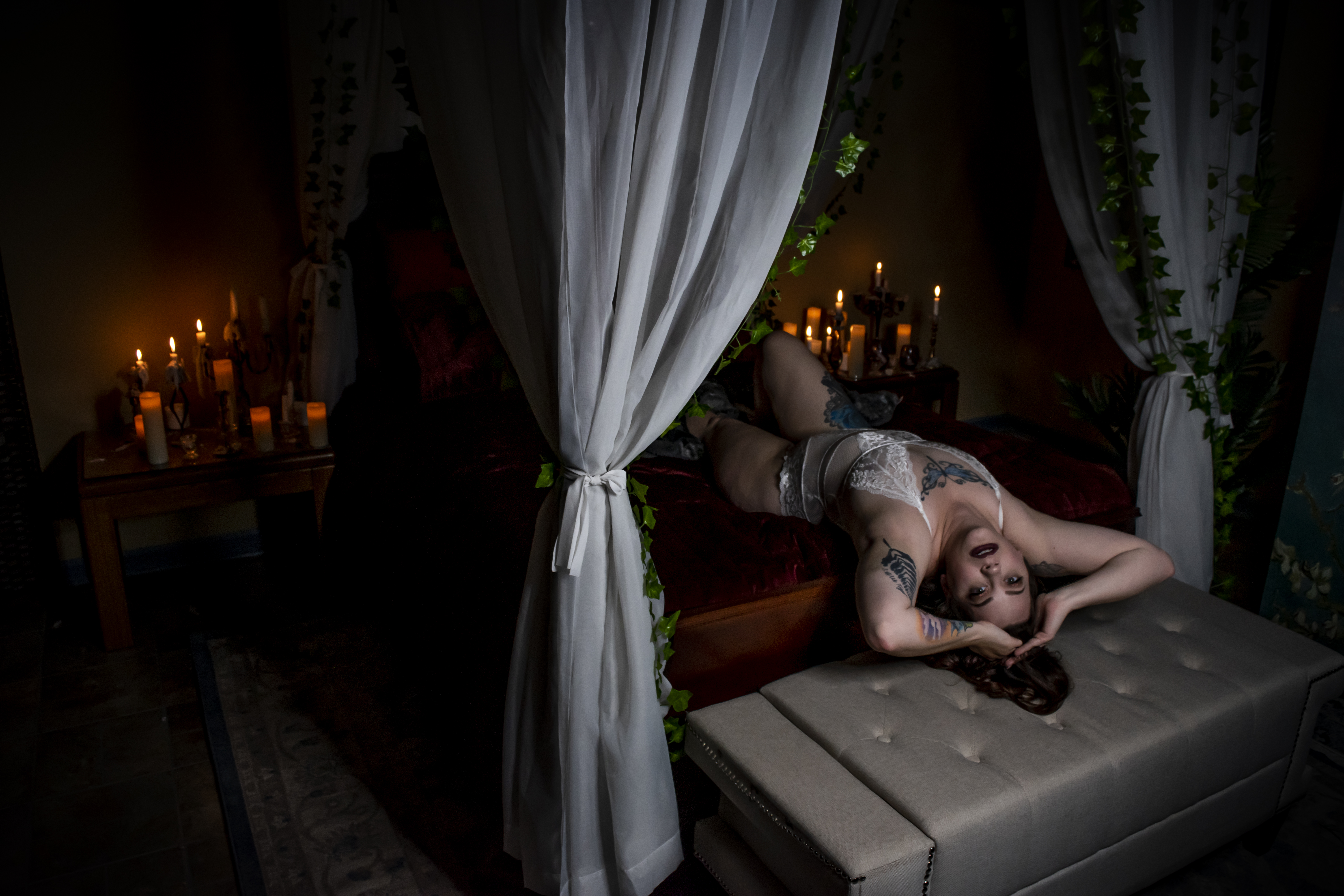 VA boudoir photographer