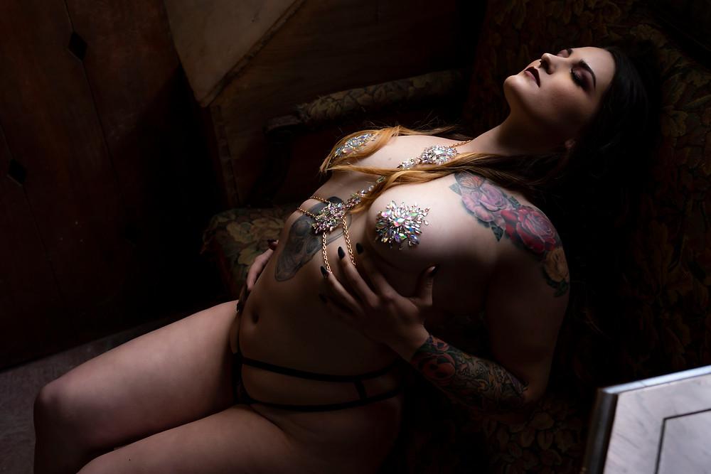 chesapeake va boudoir photography