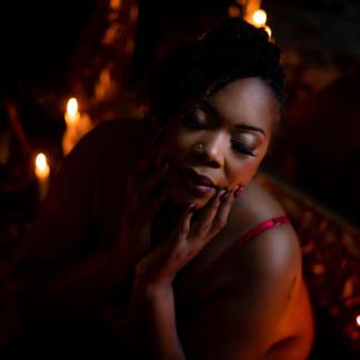 Mrs. T overcoming self-criticism // Hampton Roads Boudoir Photographer
