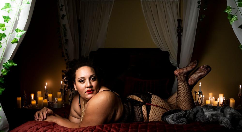 luxury boudoir photography