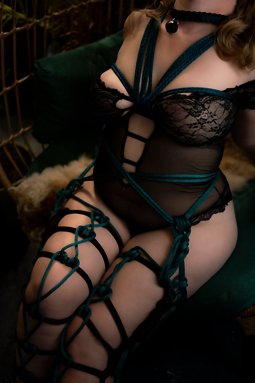 One on One Shibari Rope Session