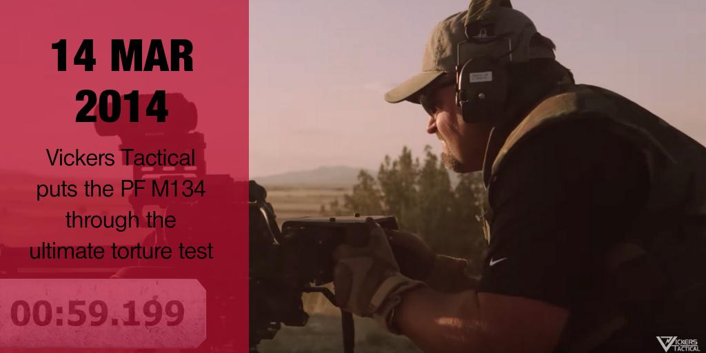 Endurance Test on PF M134