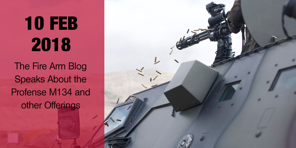 The Fire Arm Blog Highlights Profense, LLC