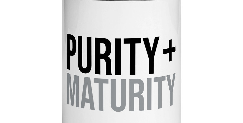 Purity + Maturity Mugs