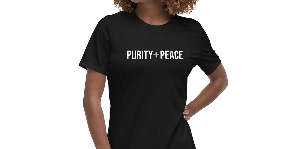 Relaxed Purity + Peace T-Shirt