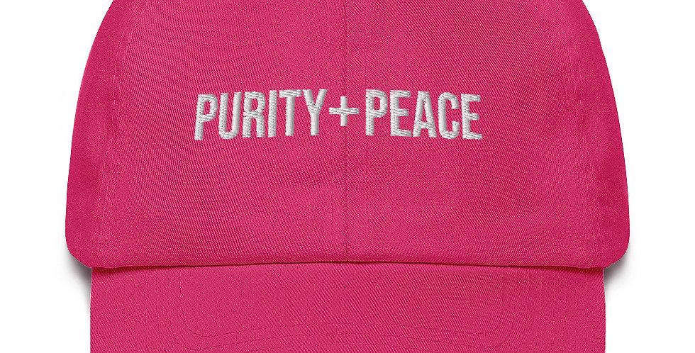 Purity + Peace Cotton Cap