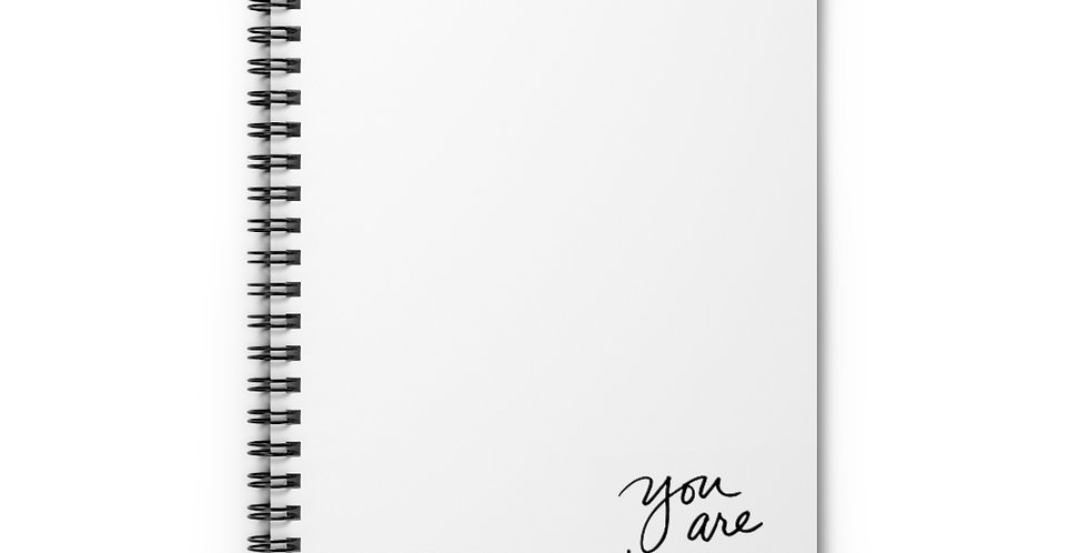 'You are healing' Spiral Notebook - Ruled Line