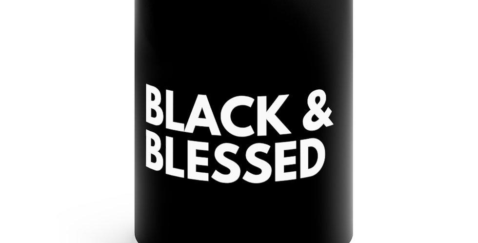 Black & Blessed Mug