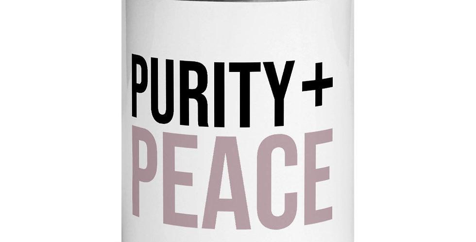 Purity + Peace mug
