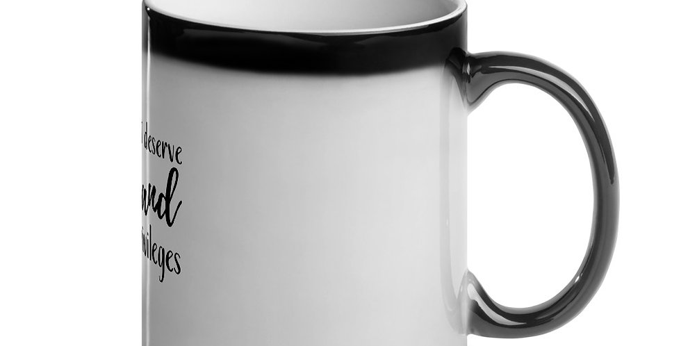 Privileges Magic Mug