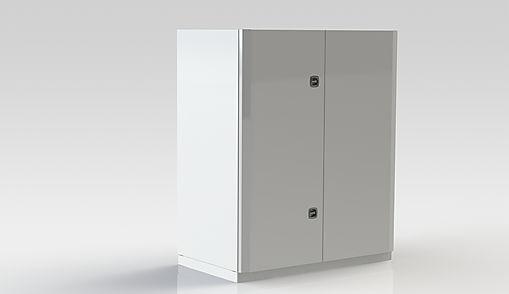 Prisvärt aggregat för större lokaler.  Flexibelt med många tillval: värme eller vattenvärme, DX-kyla, vattenkyla.