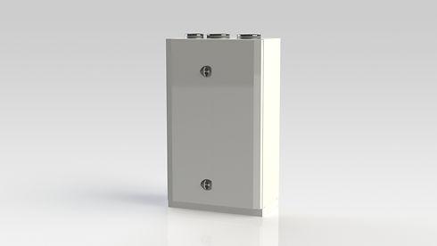 Kanalanslutna FTX-aggregat från Kuben Ventilation