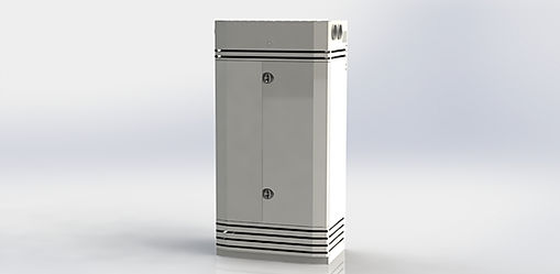 Kuben 1000 M3E är ett komplett inneklimataggregat för kontor, konferenslokaler, kontor, skolor mm.