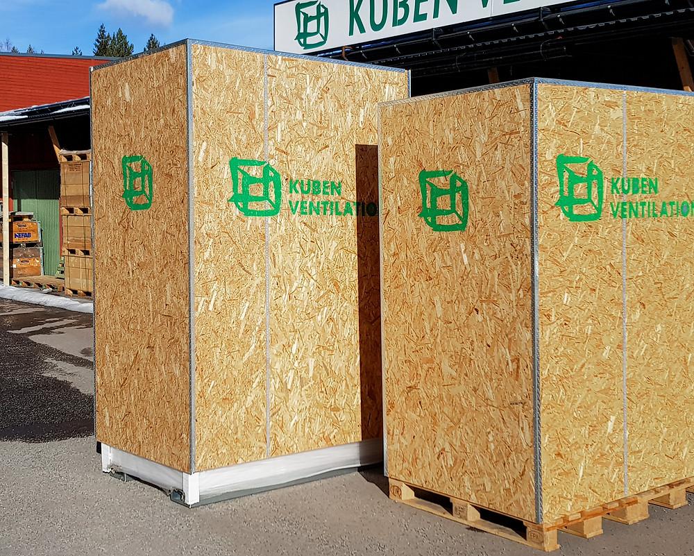 Kuben Ventilation levererar ventilationsaggregat till Sydkorea