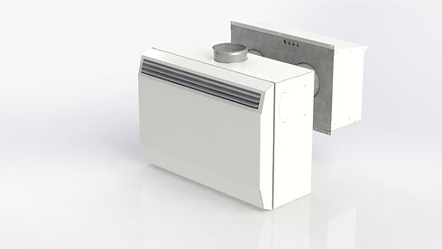 Rumsplacerade FTX-aggregat från Kuben Ventilation