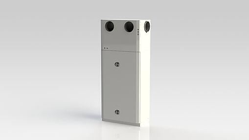 Kuben 1100TE är ett komplett inneklimataggregat avsett att kanalanslutas till ett ventilationssystem.