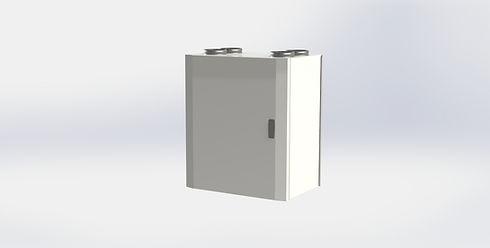 Små FTX-aggregat för villa och hus från Kuben Ventilation