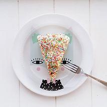 Saupoudrer gâteau couvert