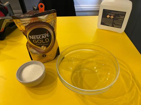Making the trendy Dalgona Coffee