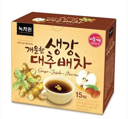 [KD054] Nokchawon Ginger Jujube Pear Tea 225g (15T)