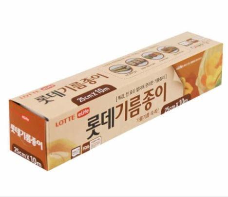 [KL046] Lotte eLife oil paper-roll type (25cm*10m)