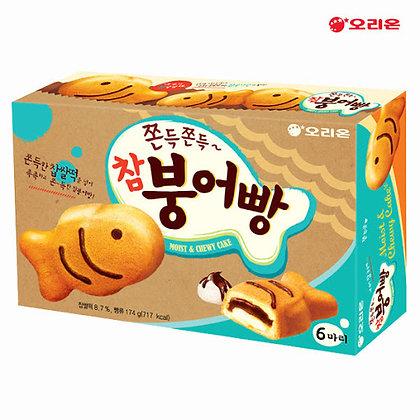 [KQ145] 오리온 쫀득쫀득 참 붕어빵 6개입 174g