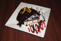 Black Forest Creamy Cheesecake