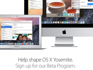 Apple releasing OS X Yosemite public preview tomorrow for free Beta Program members