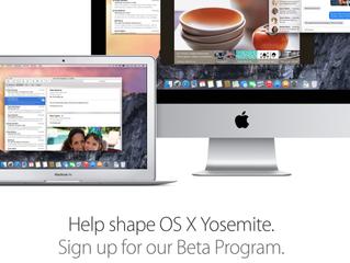 Apple releasing OS X Yosemite public preview tomorrow for free Beta Program members