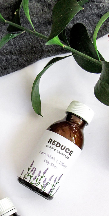 Lavender and Lemongrass Face Wash (Oily Skin)