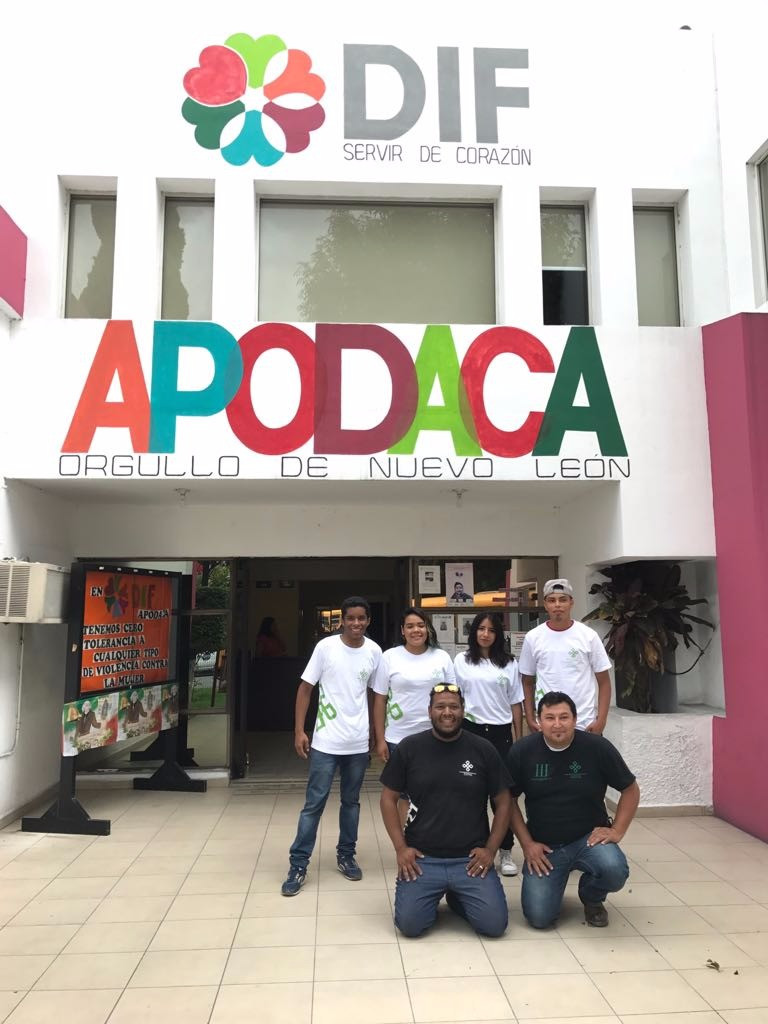 Todo lo recaudado se entregó el viernes 24 de septiembre en el DIF Apodaca
