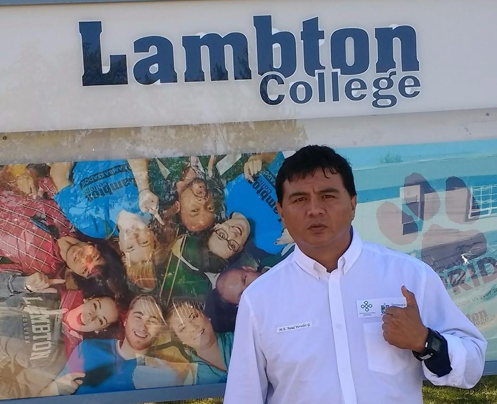 MEES Raúl Perales Gaytán en Lambton College