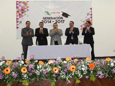 Graduación CECyTE Marín Generación 2014 – 2017