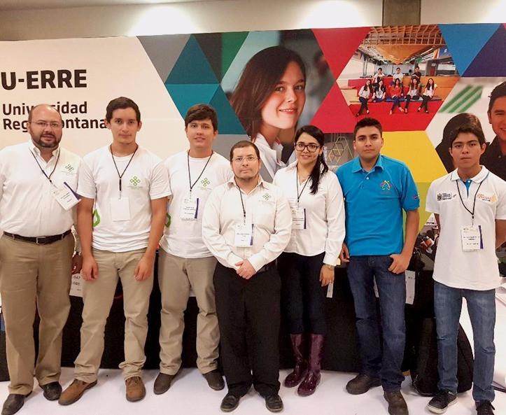 El equipo de la Universidad Politécnica de Apodaca