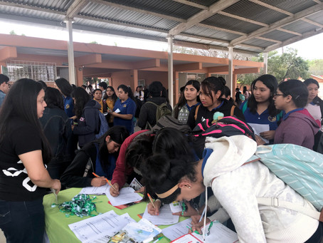 """""""Expo Universidades"""" - Preparatoria 25 de la UANL. Unidad Salinas Victoria y Escobedo"""