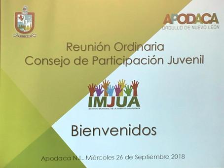 IMJUA - Reunión Ordinaria del Consejo de Participación Juvenil