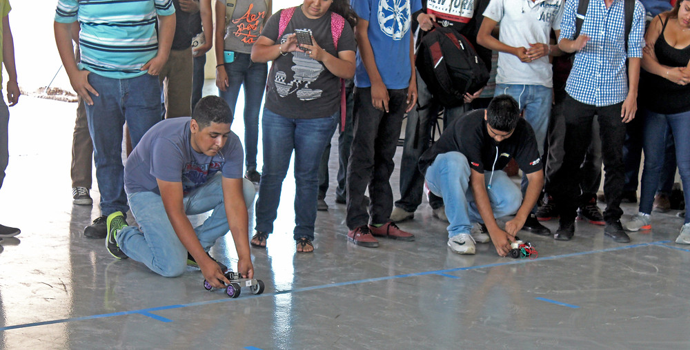 Los alumnos se mostraron entusiasmados de poder competir demostrando su conocimiento.