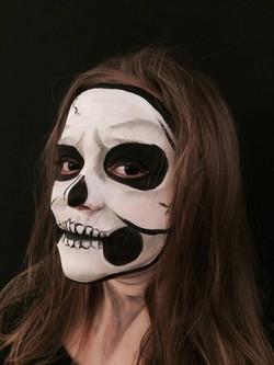Maquillage enfant - Squelette