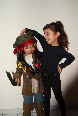 Maquillage Pirate et chat
