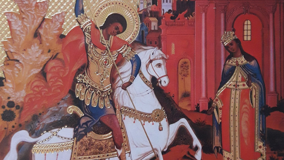 St. George - slayer of dragons