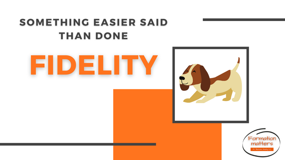 Fidelity - easier said than done